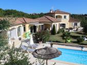 SUD ARDECHE , LES LAURIERS ROSES.  Luxueuse villa au calme avec piscine privée , jacuzzi . . Accès internet