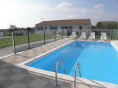 Location de vacances 6 à 9 pers avec piscine et jacuzzi Charente-Maritime
