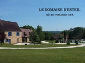 """""""Le Domaine d'Esteil"""" grand gite piscine proche Sarlat, bassin pour enfants, spa chauffés"""