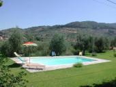 Toscane, Arezzo, belle maison de campagne piscine privée 6 personnes, splendide panorama