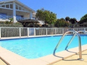 Biarritz: Charmant 3 pièces dans résidence avec piscine et plages à proximité.
