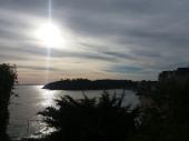 Vue sur mer panoramique. En couple, entre amis ou en famille à Saint-Lunaire