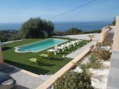 CORSE Superbe villa vue mer avec piscine et spa de luxe à CORBARA