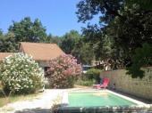 Maison de vacances 7 pers piscine privée dans parc arboré