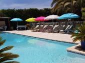 Maison de caractère avec piscine 14x6.50 m (8 personnes maximum) grande plage avec bain de soleil, 15 km des plages sur la commune de Gall