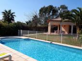 Villa classée en 4 étoiles avec une piscine privée chauffée et au sel ( sans chlore)