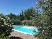 Location en Luberon d'un Mas Provencal Authentique en Pleine Nature piscine 8x4