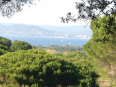 Maison Saint-Tropez avec jardin vue sur baie, 15mn plage à pied