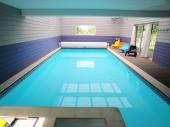 Grand gîte moderne avec piscine couverte intégrée et espace bien-être