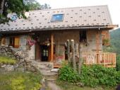 Bienvenue! Chalet calme et convivial Alt: 1400 m.   Haut-Verdon  Val d'Allos  Parc National du Mercantour.