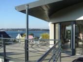 case a majo   vue rade de Brest à 180°