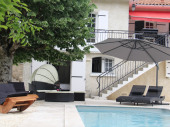 Cocooning entre les vignobles dans une villa'Res. Les Frugères' avec piscine chauffée, whirlpool, près de Golf du Cognac