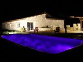 Gite classé sud Périgord piscine chauffée