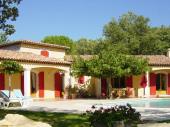 Provence Verte - Villa 220m2 Tranquilité - Chambres climatisées - Piscine Chauffée