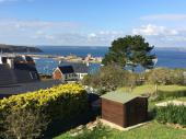 Maison vue mer en presqu'ile de Crozon sur le port de camaret et la tour Vauban