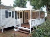 Mobil Home tout confort, climatisé, bien équipé pour 8 personnes à Vias Plage