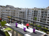 Magnifique Appartement 3P design +PARKING +VELOS. Dernier étage Entre HOTELS CARLTON  MARTINEZ