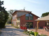 Gîte Loft  4 Epis - Piscine - Vue Pyrénées - 6 personnes