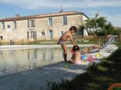 Le Logis de la Mer avec piscine naturelle de 350 m²