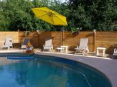 Villa sécurisée avec piscine