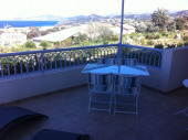 Grand T2 neuf climatisé, terrasse ombragée 20 m² vue mer. Résidence gd standing.