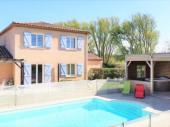 Très belle villa jacuzzi et piscine chauffée près de Carcassonne