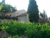 Gîtes de France avec Belle vue sur le Mont-Ventoux et sur les vignes aux alentours.