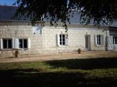 GÎTE LE LIT DE LA LOIRE A 200 m de la Loire location indépendante de 100 m2 proche de Saumur 10 km et Montsoreau 3 km a