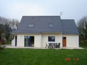 Belle maison en ossature bois à Riec sur Belon