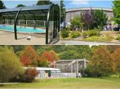 Gîte avec piscine couverte et chauffée