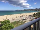 Argelès loue apt front de mer  superbe panorama