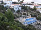 Maison, piscine 13 m chauffée, vue mer