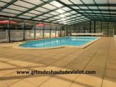 Gites des hauts de vialot en Périgord Noir piscine couverte chauffée 30°- Wi-fi