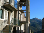 Maison chaleureuse dans charmant village traditionnel corse