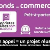 Cession de bail Local commercial Strasbourg 170 m²