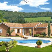 Maison 4 pièces + Terrain Saint-Maurice-de-Gourdans