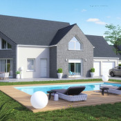 Terrain 1021 m² Courgent (78790)