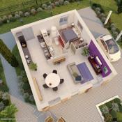 Maison 2 pièces + Terrain Pontault-Combault