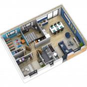 Maison 4 pièces + Terrain Corne