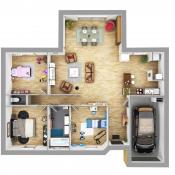 Maison 5 pièces + Terrain Gémil