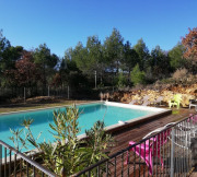piscine privée clôtu