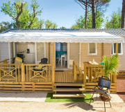 Mobil-home - Camping Domaine de Chaussy - Lagorce