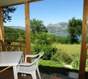 Mobil-home - Camping Hotel de plein air LA PALATRIERE*** - Le Sauze-du-Lac
