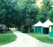 Hébergement insolite - Camping du Lion - Bourg-Saint-Andéol