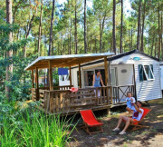 Mobil-home - camping l'oceane - Vielle-Saint-Girons