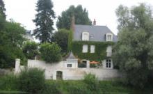 Face au château de St Aignan, maison de Maître très confortable,