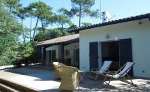 Villa indépendante 4 chambres 10 personnes entre Lac et Océan.