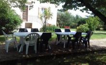 Maison au coeur du vignoble Gaillacois 12 couchages ( salle pour anniversaire 35 personnes)