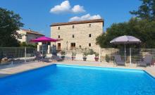 Gîte de charme en Cévennes 15 personnes avec piscine et SPA