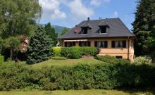 CARLINE: Gîte de france 2 épis ,3 étoiles dans le petit village montagnard de STOSSWIHR dans la vallée de MUNSTER